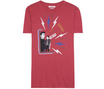 T-Shirt Dewel mit Print