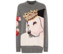 Pullover mit Cashmere und Wolle