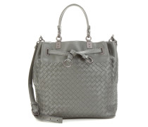 Bucket-Bag aus Intrecciato-Leder