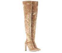 Overknee-Stiefel Lorraine 100 aus Samt