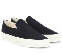 Slip-ons Mary aus Canvas