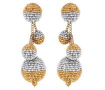 Clip-Ohrringe mit Glasperlen
