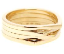 Ring Antifer aus 18kt Gelbgold