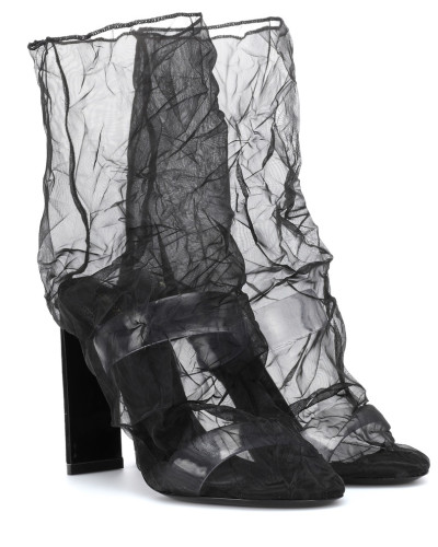 Ankle Boots D'Arcy 105 aus Organza