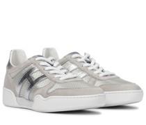 Sneakers H357 Retro mit Veloursleder