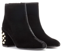Ankle Boots Pearl Bacari Mona aus Samt