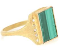 Vergoldeter Ring Roxy Signature