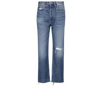 High-Rise Jeans 70s Stove Pipe
