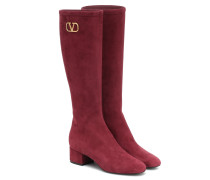 Stiefel VLOGO aus Veloursleder