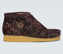 Ankle Boots Wallabee aus Samt