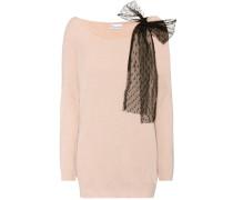Pullover aus einem Wollgemisch mit Cashmere und Angora