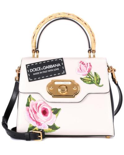 Dolce & Gabbana Damen Schultertasche Welcome aus Leder Spielraum Hohe Qualität hjlXvjaC