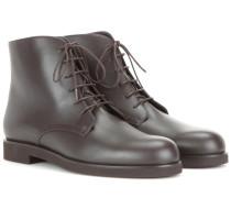 Ankle Boots Savile aus Leder