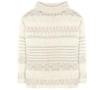 Pullover aus einem Lammwoll-Seiden-Alpakagemisch