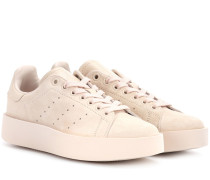 Sneakers Stan Smith Bold aus Veloursleder