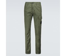 Hose aus Stretch-Gabardine