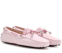 Loafers Heaven New Laccetto aus Veloursleder