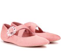 Ballerinas aus Ponyfell