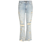 High-Rise Jeans Grind in Cropped-Länge