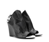 Wedge-Sandalen Glove aus Leder