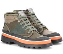Garavani ID Camouflage Ankle Boots