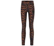 Bedruckte Leggings Tiger Yoga