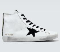 High-Top-Sneakers Francy aus Leder