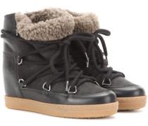 Ankle Boots Nowles aus Leder