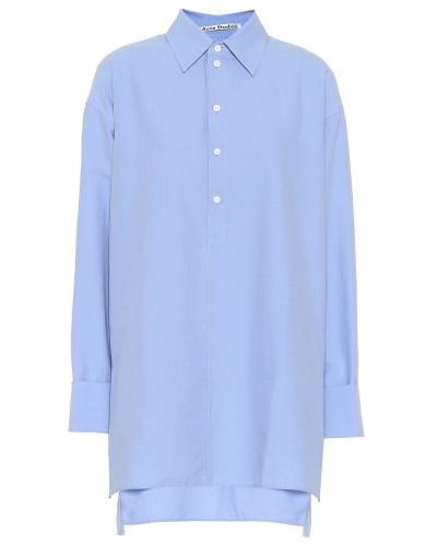 Bluse Oxford aus Baumwolle
