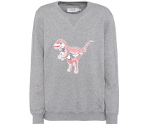 Sweatshirt mit Pailletten-Applikation