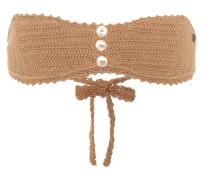 Gehäkeltes Bikini-Top aus Baumwolle
