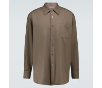 Hemd Above aus Wolle