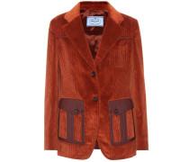 Jacke aus Cord