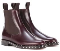 Garavani Verzierte Chelsea Boots Soul Rockstud aus Leder