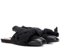 Slippers aus Canvas