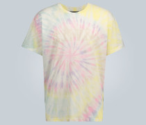T-Shirt mit Batik-Print