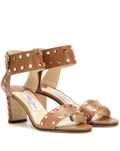 Verzierte Sandaletten Veto 65 aus Leder