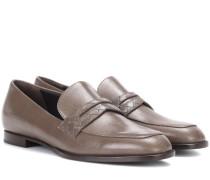 Loafers Bagley's aus Leder