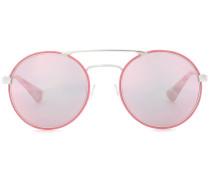 Sonnenbrille mit rundem Rahmen