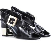 Sandalen Soft Strap aus Leder