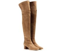 Overknee-Stiefel Natalee aus Veloursleder