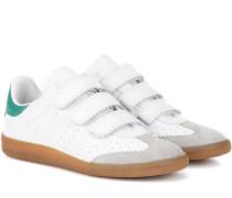 Étoile Beth Sneakers aus Leder und Veloursleder