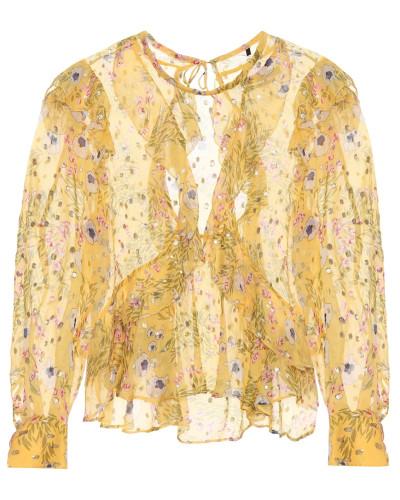 Bedruckte Bluse Muster