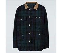 Blouson Check Shrivel