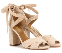 Sandaletten Tarzan 85 aus Veloursleder