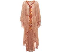 Semi-transparentes Kleid mit Volants