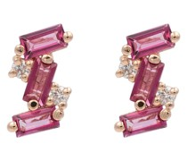 Ohrringe aus 14kt Roségold