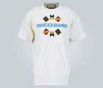 T-Shirt Band aus Baumwolle