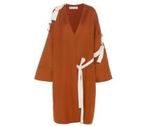 Mantel aus einem Woll-Angora-Cashmere-Gemisch