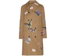 Bestickter Mantel aus Baumwolle